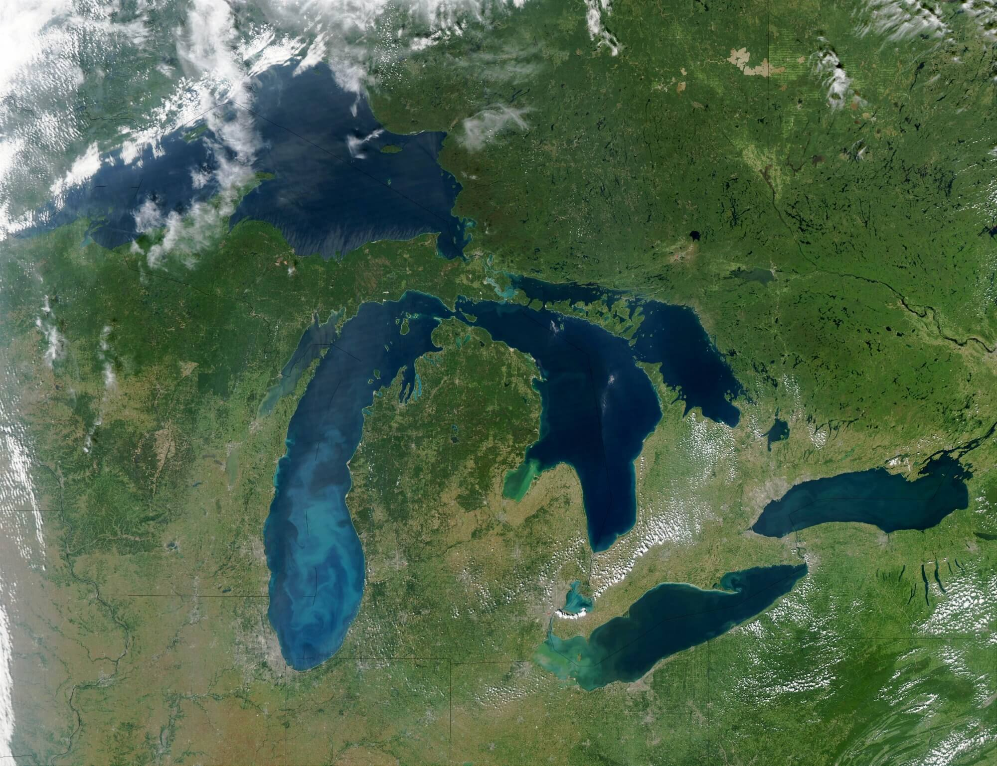 Watershed Modeling to Improve Ecosystem Services in the Great Lakes