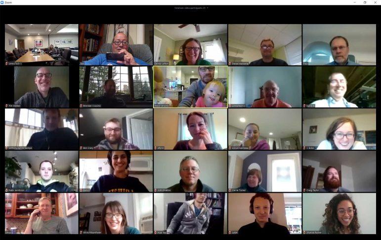 LimnoTech Zoom Company Meeting